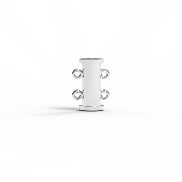 Magnet Röhre JKA Silber 925 rhodiniert