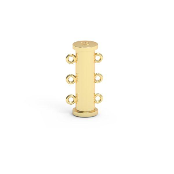 Magnet Röhre JKA 14kt Gelbgold