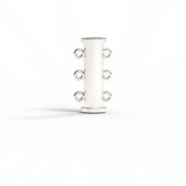 Magnet Röhre JKA Silber 925 feinversilbert