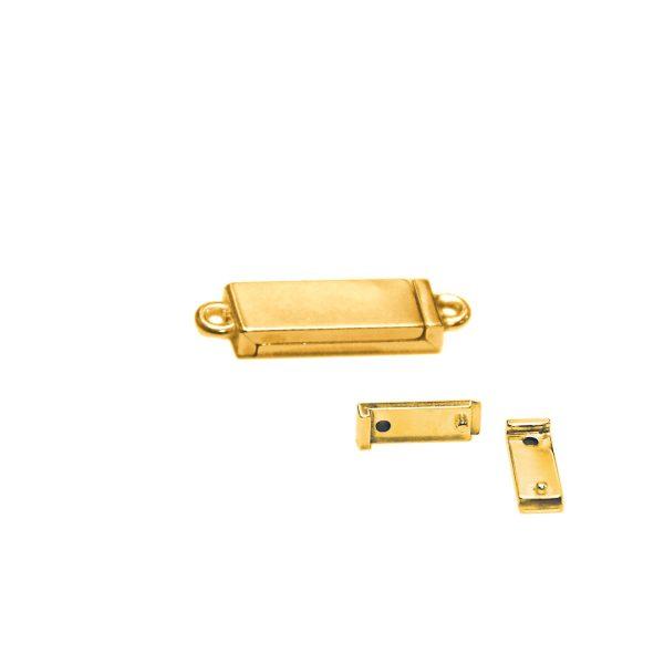 Magnet Kasten 14kt Gelbgold