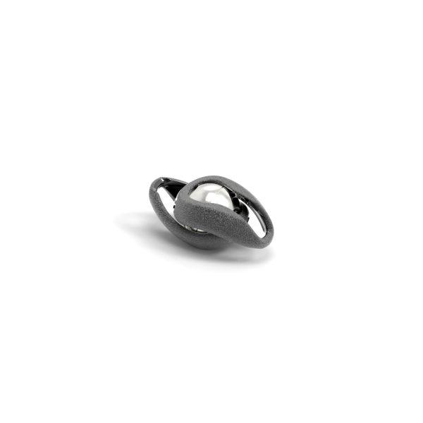 Magnet Kugel Infinity Silber 925 rhodiniert