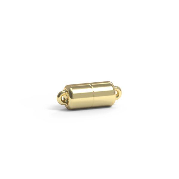 Magnet Zylinder classic 14kt Gelbgold