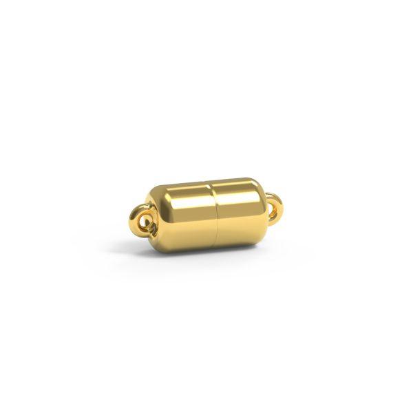 Magnet Zylinder classic 18kt Gelbgold
