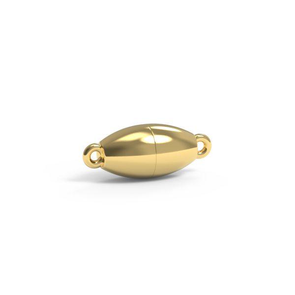 Magnet Olive classic 14kt Gelbgold