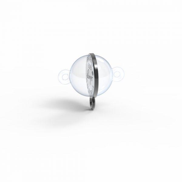 Magnet AddOn Halterung Silber 925 Rugadec