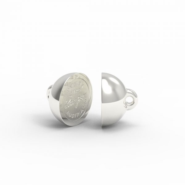 Magnet Kugel PatentX Silber 999 feinversilbert