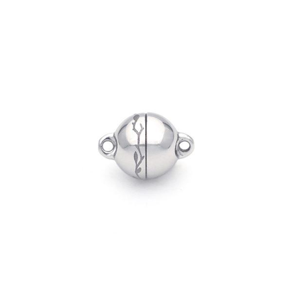 Magnet Kugel PatentX Nature Silber 999 rhodiniert