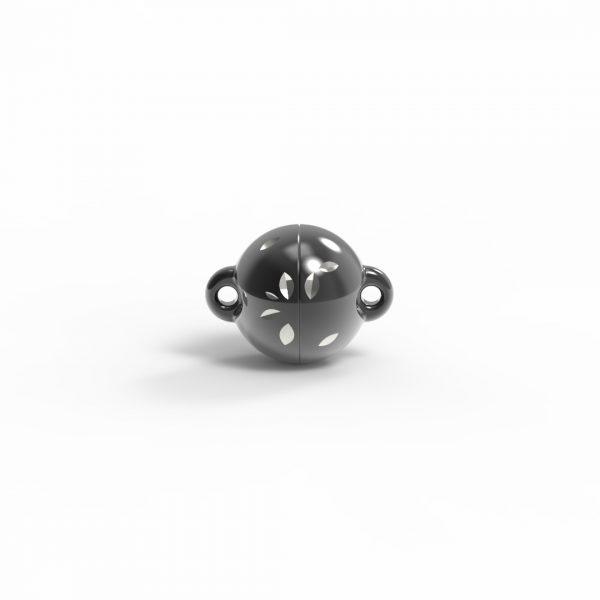 Magnet Kugel power DiamCut Silber 999 Rugadec
