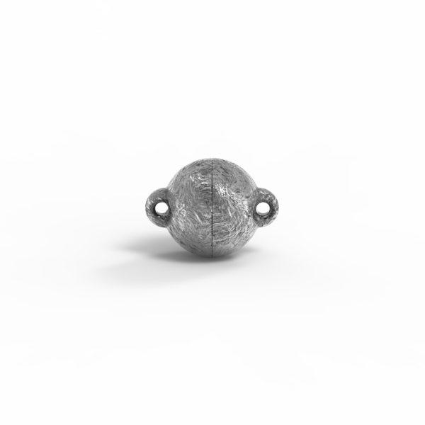 Magnet Kugel power Silber 999 Antik