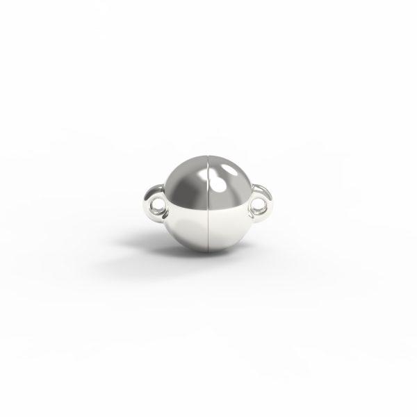Magnet Kugel power Silber 999 feinversilbert