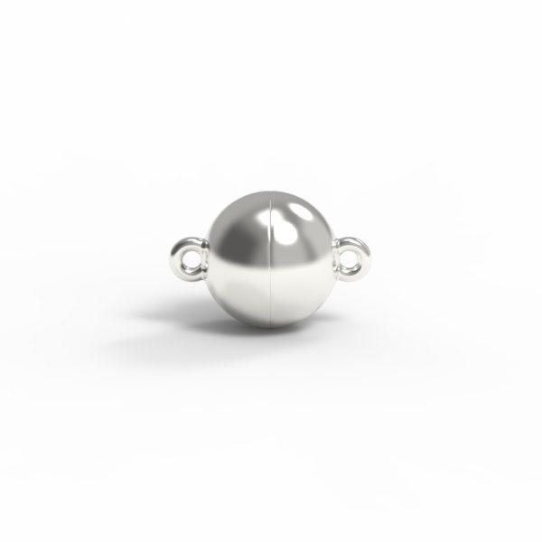 Magnet Kugel classic Silber 925 feinversilbert