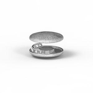 Magnet Linse closeX Silber 925 rhodiniert