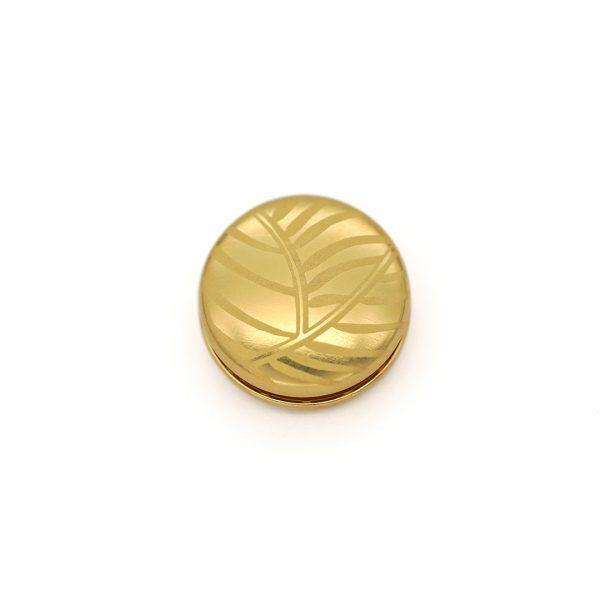 Magnet Linse closeX Nature Silber 925 3my vergoldet
