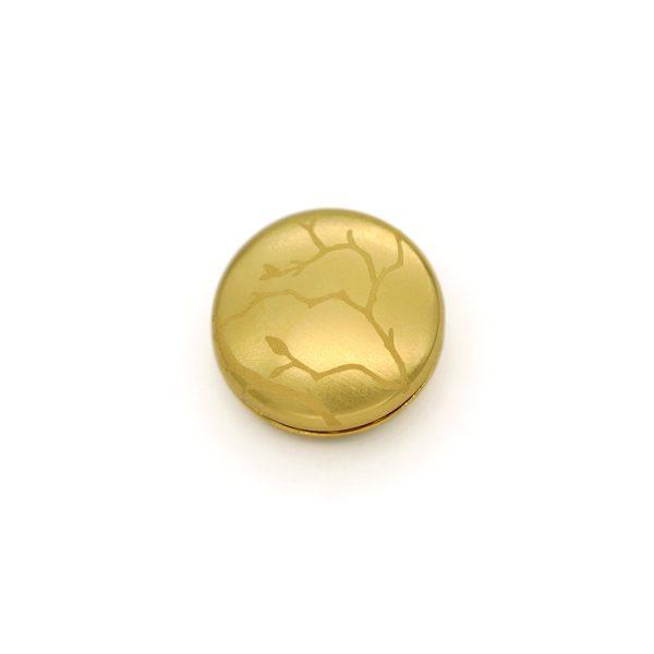 Magnet Linse closeX Silber 925 3my vergoldet
