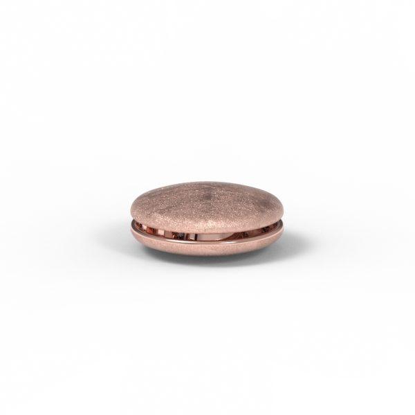 Magnet Linse close Silber 925 rosé vg.