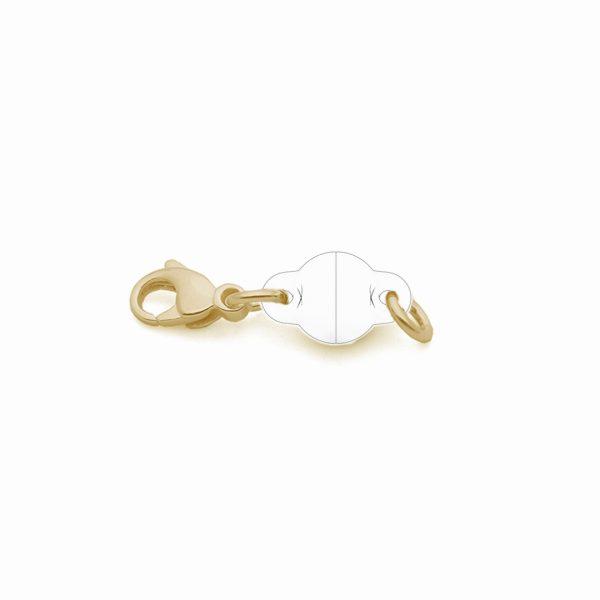 Magnet ClickOn Silber 925 3my vergoldet